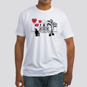 Remember Valentine Fitted T-Shirt