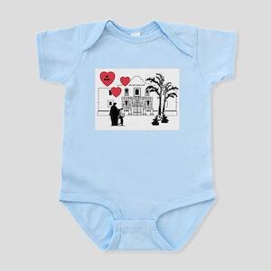 Remember Valentine Infant Creeper