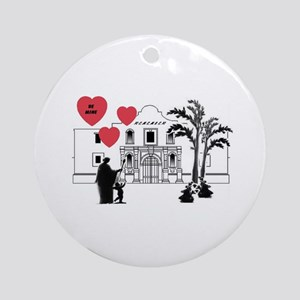 Remember Valentine Ornament (Round)
