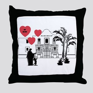 Remember Valentine Throw Pillow