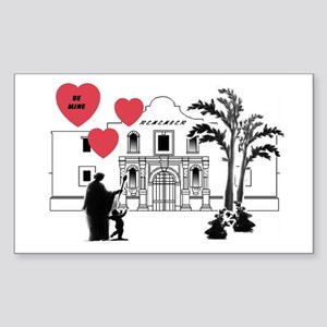 Remember Valentine Rectangle Sticker