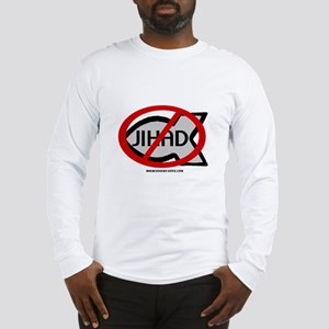 'No To Jihad' Fish Long Sleeve T-Shirt