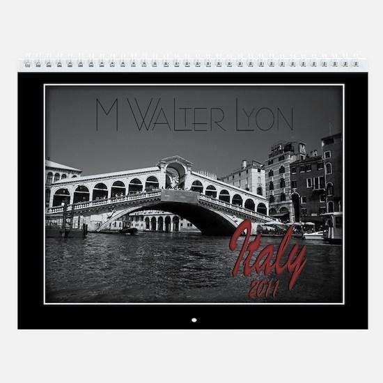 Italy Calendar by M Walter Lyon