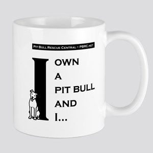 I Own A Pit Bull Mug
