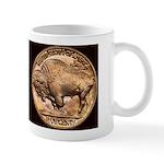 Nickel Indian-Buffalo Mug