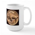Nickel Indian-Buffalo Large Mug