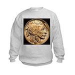Nickel Indian Head Kids Sweatshirt