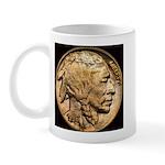 Nickel Indian Head LH Mug