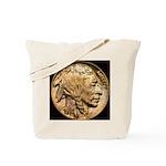 Nickel Indian Head Tote Bag
