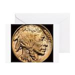Nickel Indian Head Greeting Cards (Pk of 10)