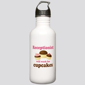 Funny Receptionist Stainless Water Bottle 1.0L