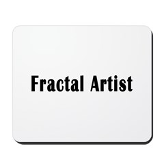 Fractal Artist Mousepad