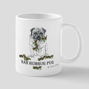 Christmas Pug Holiday Dog Mug