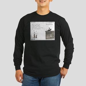 Certifiable Long Sleeve Dark T-Shirt