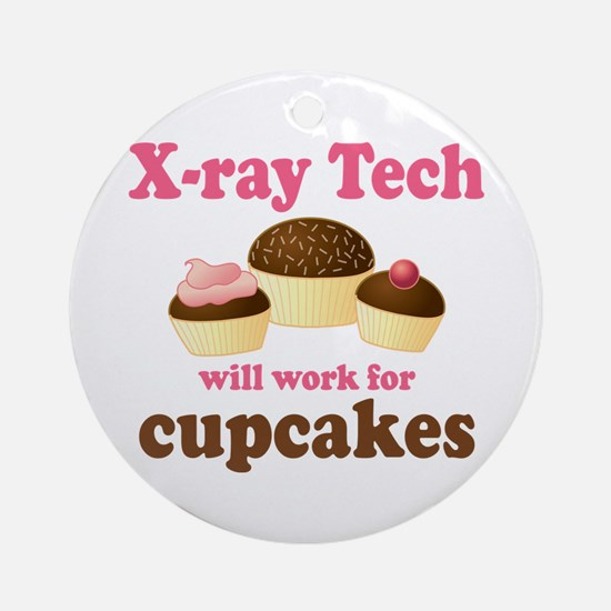 Funny X-Ray Tech Ornament (Round)