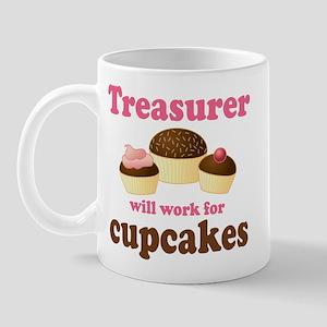 Funny Treasurer Mug