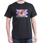 What's All This Then? Masters Of None Dark T-Shirt