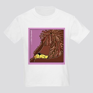 Sleeping Irish Water Spaniel Kids T-Shirt