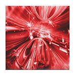 Explosive Red Tile Coaster