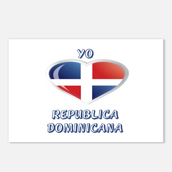 REP. DOMINICANA Postcards (Package of 8)
