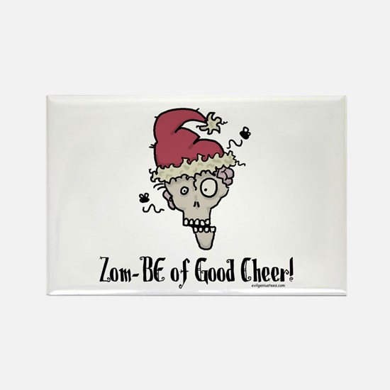 Zom-BE of good cheer Rectangle Magnet (10 pack)