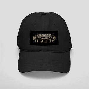 Legendary Since 1937 Black Cap with Patch