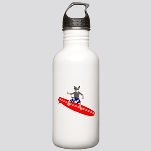 Cattle Dog Surfer Stainless Water Bottle 1.0L