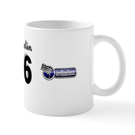 J4RF Black/Silver Mug 56