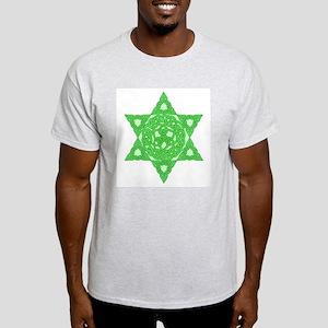 Celtic Star of David Ash Grey T-Shirt