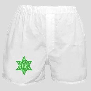 Celtic Star of David Boxer Shorts