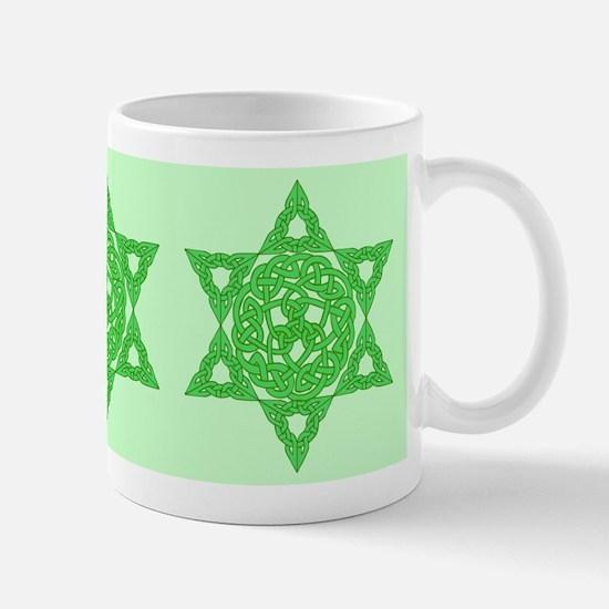 Celtic Star of David Mug