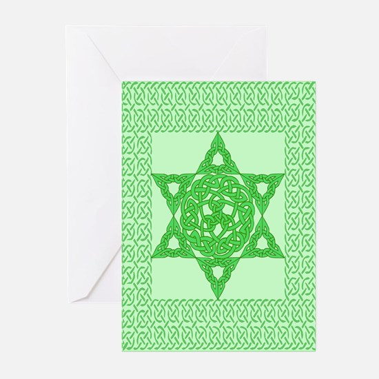 Celtic Star of David Greeting Cards (Pk of 10)