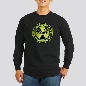 Radiology Technologist Long Sleeve Dark T-Shirt