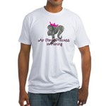 Air Force Princess Fitted T-Shirt