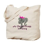 Air Force Princess Tote Bag