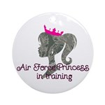 Air Force Princess Ornament (Round)