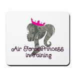 Air Force Princess Mousepad