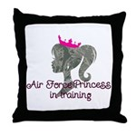 Air Force Princess Throw Pillow