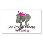 Air Force Princess Sticker (Rectangle 10 pk)