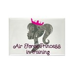 Air Force Princess Rectangle Magnet (10 pack)