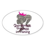 Guardsman Princess Sticker (Oval 50 pk)
