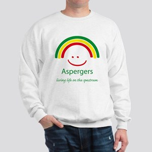 Aspergers .. on the Spectrum Sweatshirt