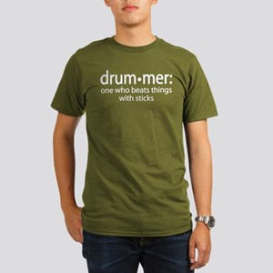 Funny Drummer Definition Organic Men's T-Shirt (da