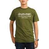 Percussionist Organic Men's T-Shirt (dark)