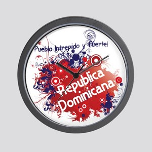 REP. DOMINICANA Wall Clock