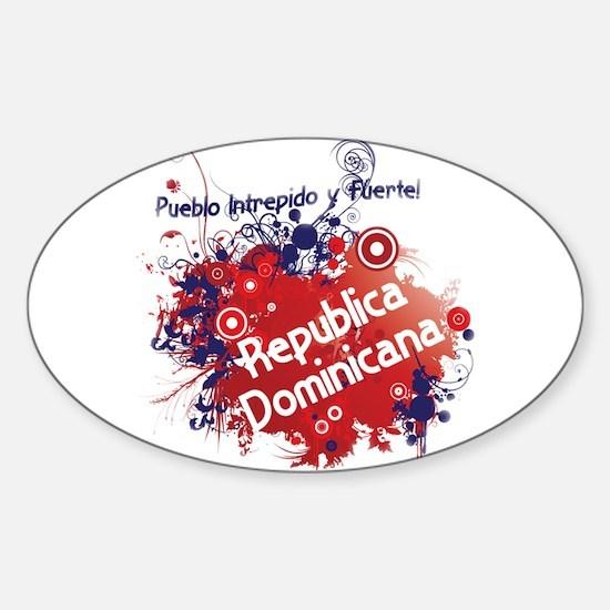 REP. DOMINICANA Sticker (Oval)