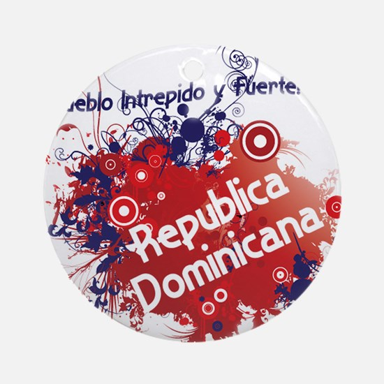 REP. DOMINICANA Ornament (Round)