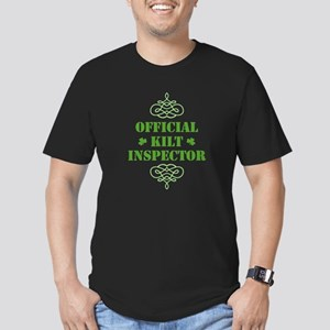 Official Kilt Inspector Men's Fitted T-Shirt (dark