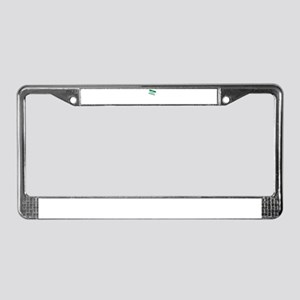 Hello. My Name Is Drunkass License Plate Frame