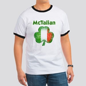 McTalian Distressed Ringer T